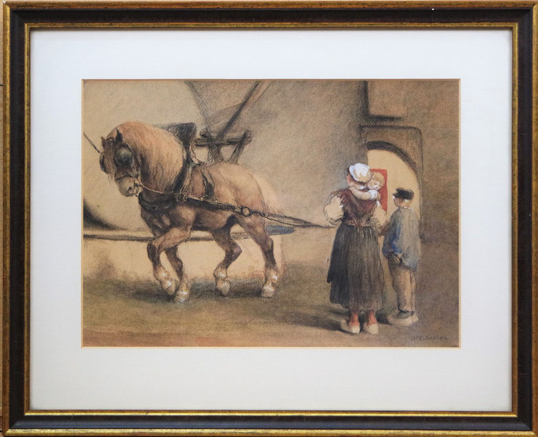 te_koop_aangeboden_een_aquarel_kunstwerk_van_de_kunstschilder_willem_carel_nakken_1835-1926