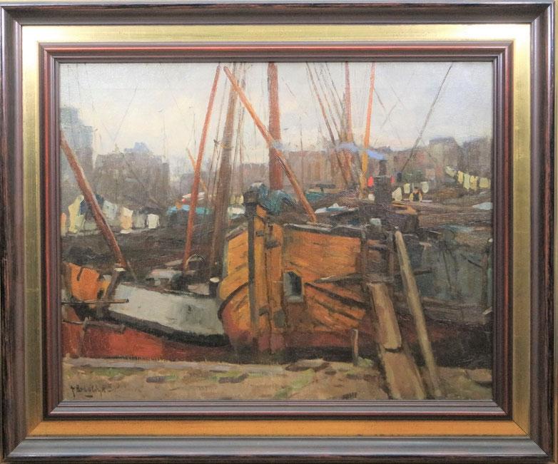 te_koop_aangeboden_een_schilderij_van_de_nederlandse_kunstschilder_felicien_bobeldijk_1876-1964