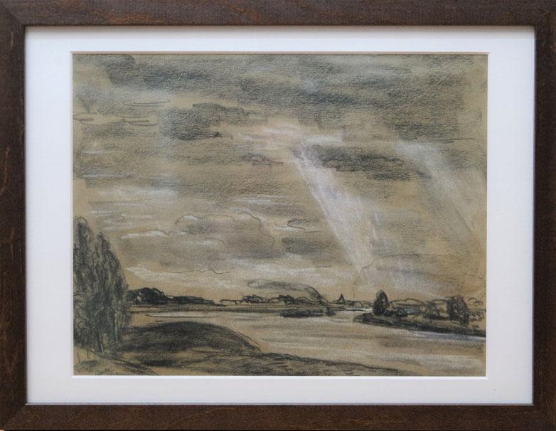 te_koop_aangeboden_een_houtskool_tekening_van_de_nederlandse_kunstenaar_leo_gestel_1881-1941_bergense_school