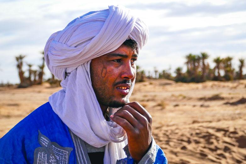Ma vision du bonheur homme du désert