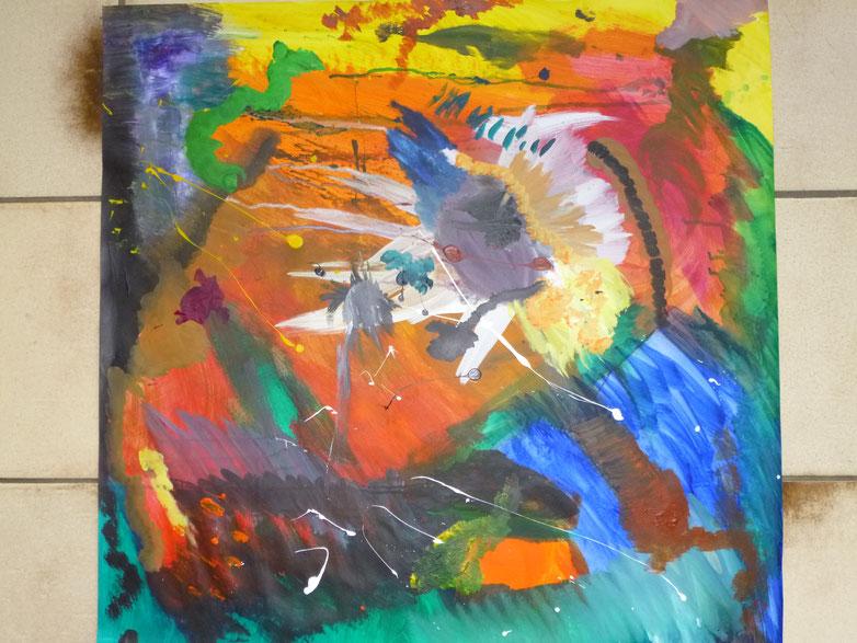 Titelgemälde (Multiversum eins, Winnenden 2011) amokfisch
