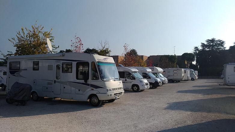 Peschiera Stellplatz Area Camper
