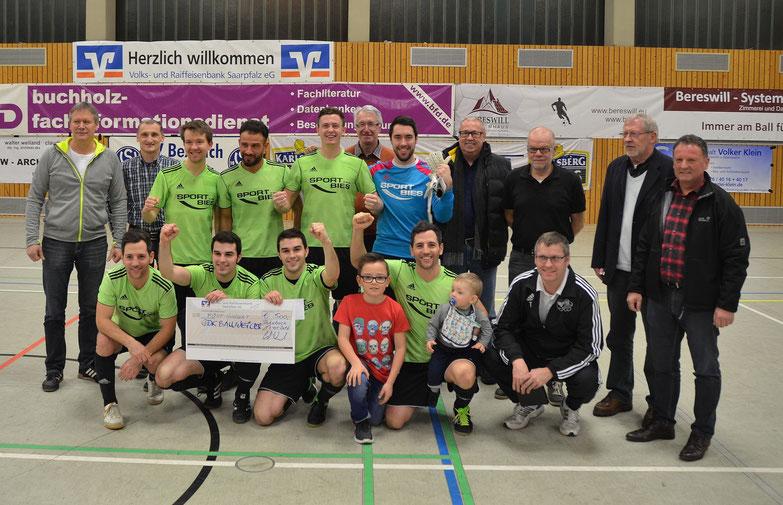 Sieger mit 4:3 gegen den FSV Jägersburg  - die SG Ballweiler-W.-Wolfersheim