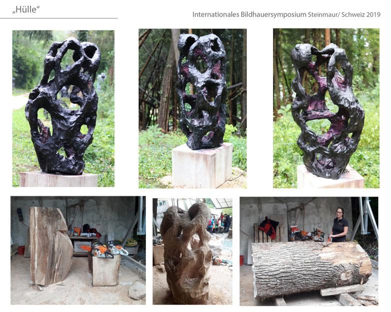 #Katharina Mörth #Contemporaryart #Sculpture #Skulptur #Holz #Eiche #Fashion #Design #Kunst #Gartendesign #Gardensculpture #2019