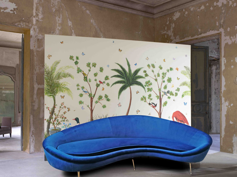 divano curvo comma sofa ico parisi