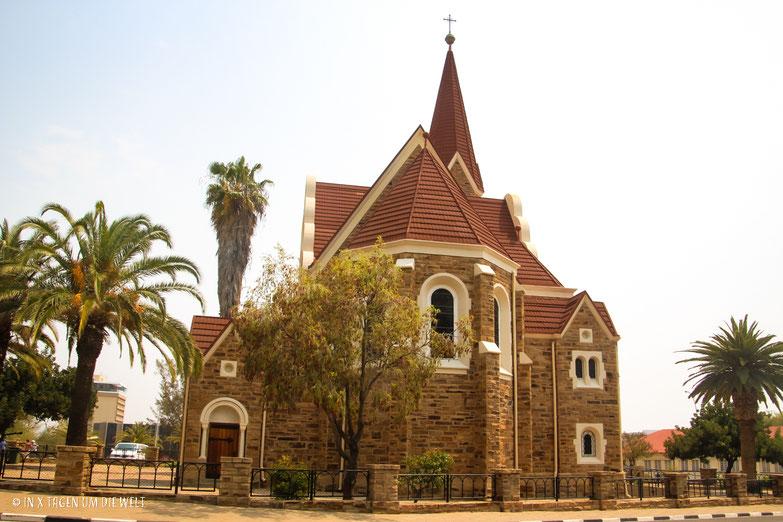 Christuskirche Windhoek, Namibia, Afrika