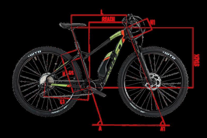 Wilier E803XN Geometrie Italian Cycle Experience