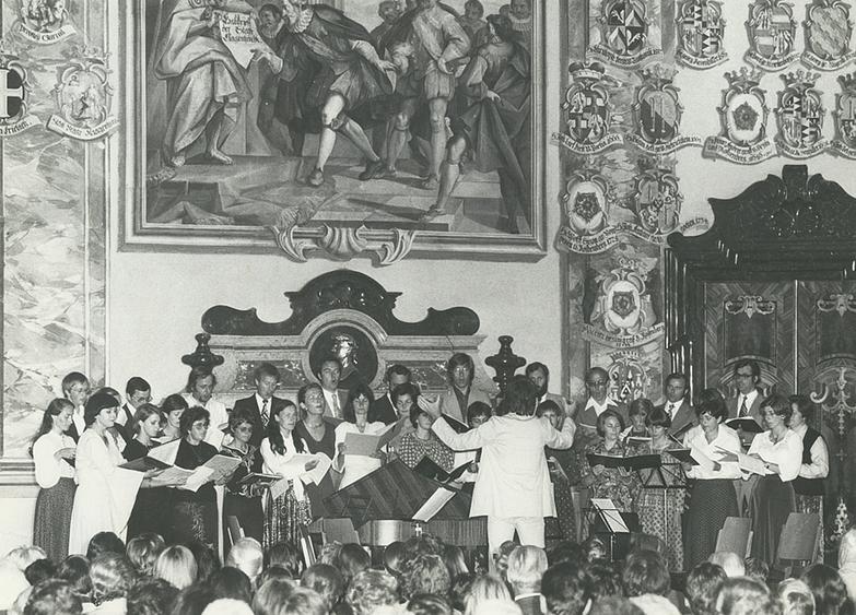 Konzert im Klagenfurter Wappensaal
