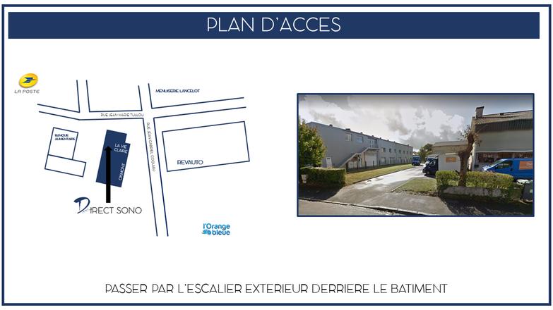 Plan d'accès - Bureau de Pacé