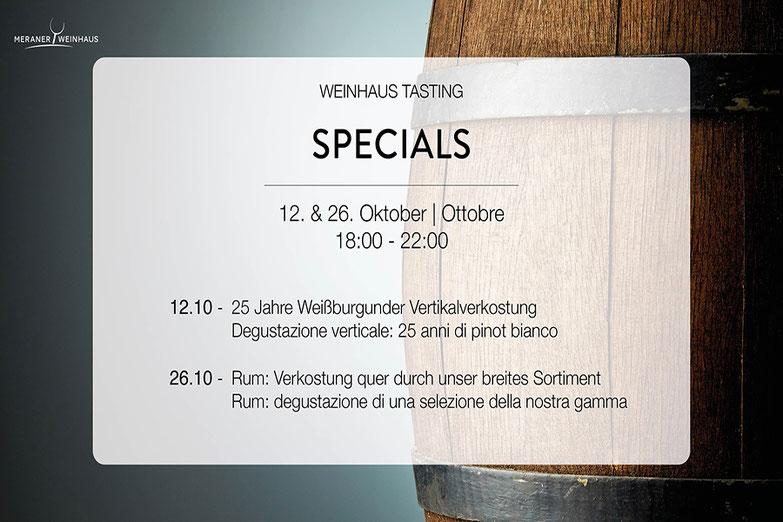 Hausmesse Meraner Weinhaus, Pur Südtirol, Ah!Natur - fiera aziendale di Meraner Weinhaus, Pur Südtirol e Ah!Natur - Gourmet Südtirol