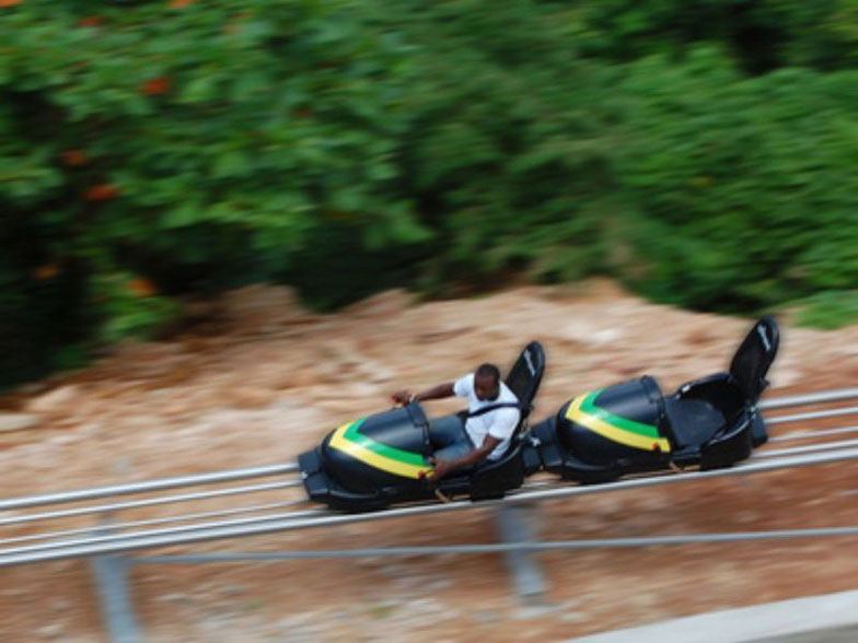 BOBSLED RIDE AT MYSTIC MOUNTAINS - OCHO RIOS