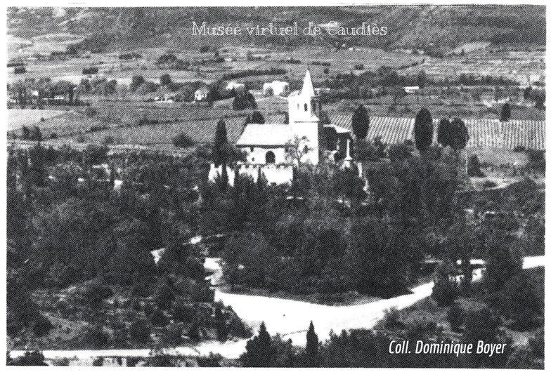 """Photo extraite de la brochure """"Caudiès vous accueille en Fenouillèdes""""."""