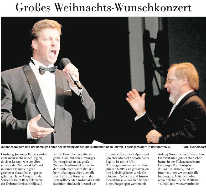 Nassauische Neue Presse. 17.10.2015