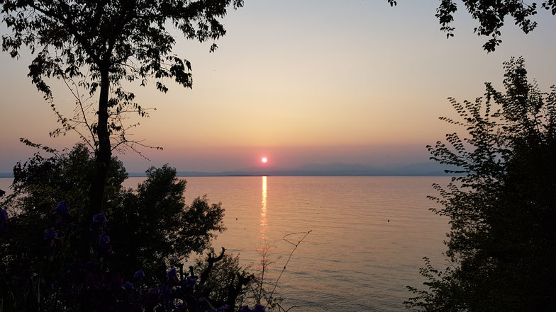 Camping Fosallta Italien Gardasee Lago di Garda Italia sunset wolf78-overland.ch