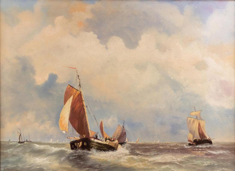 te_koop_aangeboden_een_marine_kunstwerk_van_de_nederlandse_kunstschilder_adrianus_marijnissen_1899-1978