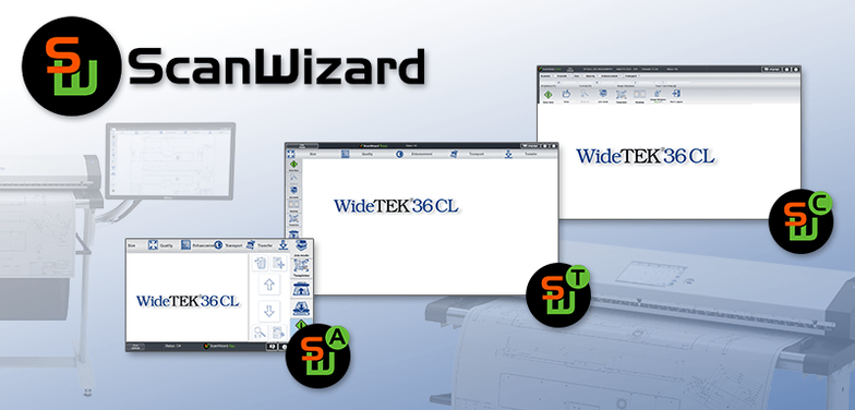 ScanWizard - Scanclient für Bookeye und WideTek Scanner