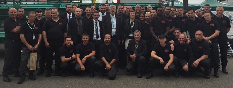 L'équipe de l'AGENCE ACP SECURITE RENNES