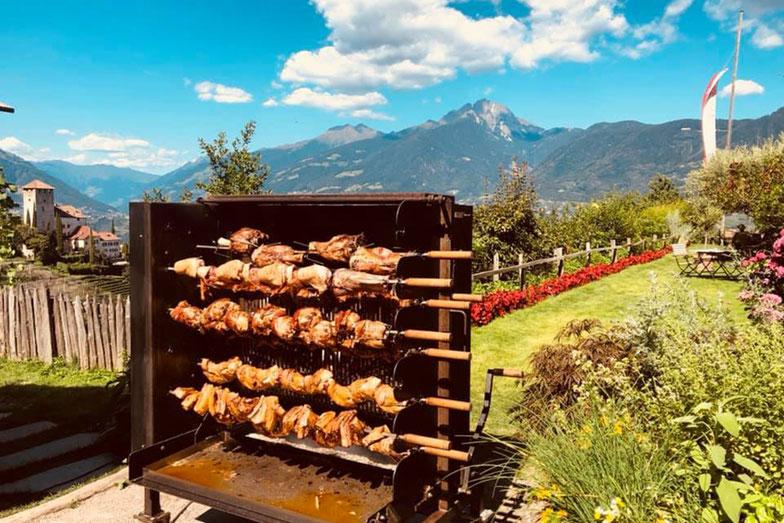 Grillabende im Haidenhof in Tscherms - Barbecue nell'Haidenhof a Cermes - Gourmet Südtirol