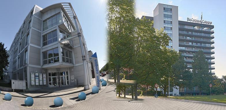 Technologiestandorte RTZ und BCC in Köln