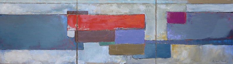 Abstract painting, blue and grey painting, de stael style painting, de Staël style, french painter, south of france gallery, st paul de vence, Bel Air gallery, Bartoux galerie, st Paul de vence gallery