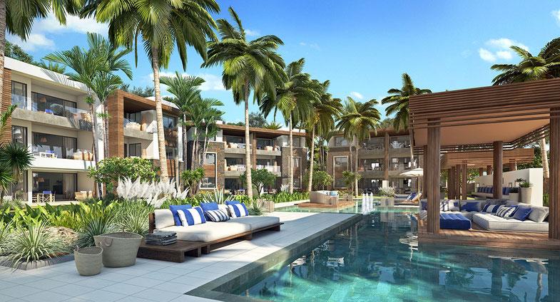 Nouveau Programme immobilier RES d'appartements vue mer BRITANNIA de ROYAL PARK ILE MAURICE