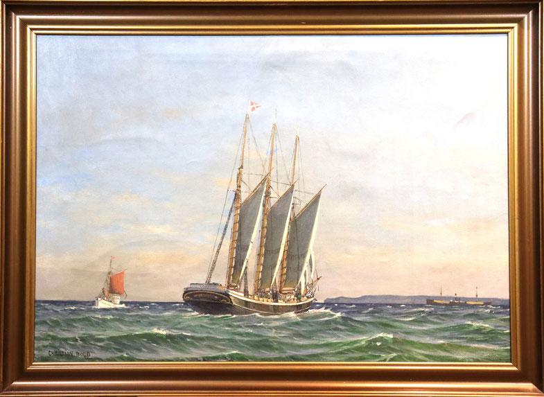 te_koop_aangeboden_een_marine_schilderij_van_de_deense_kunstschilder_christian_bogo_1882-1945