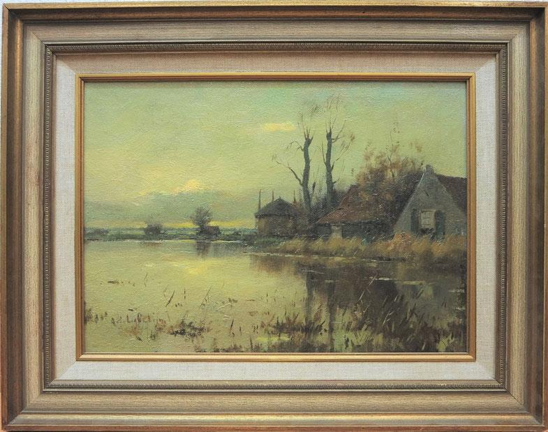 te_koop_aangeboden_een_landschapsschilderij_van_evert_jan_ligtelijn_1893-1975