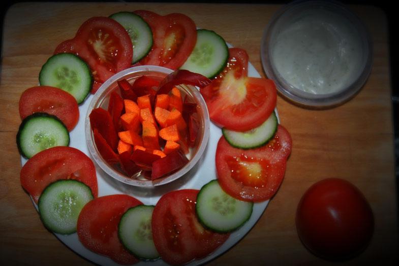 Detox Rezept / Gemüseteller / Vegan / Gesund