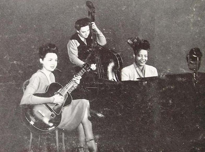 mujeres en el jazz-Mary Osborne Trio