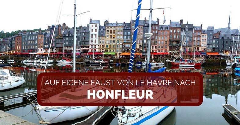 Von Le Havre nach Honfleur Taxi