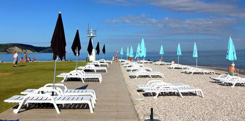 Izola, Lighthouse beach - Izola, Leuchtturmstrand - Izola, spiaggia del faro -