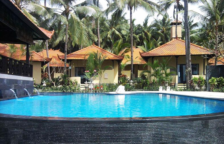 Ferien-Tauchresort auf Bali