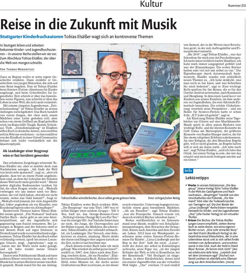 Stuttgarter Zeitung und Stuttgarter Nachrichten vom September