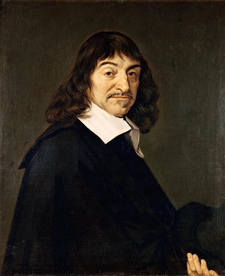"""Frans Hals, """"Ritratto di René Descartes"""" (1649)"""