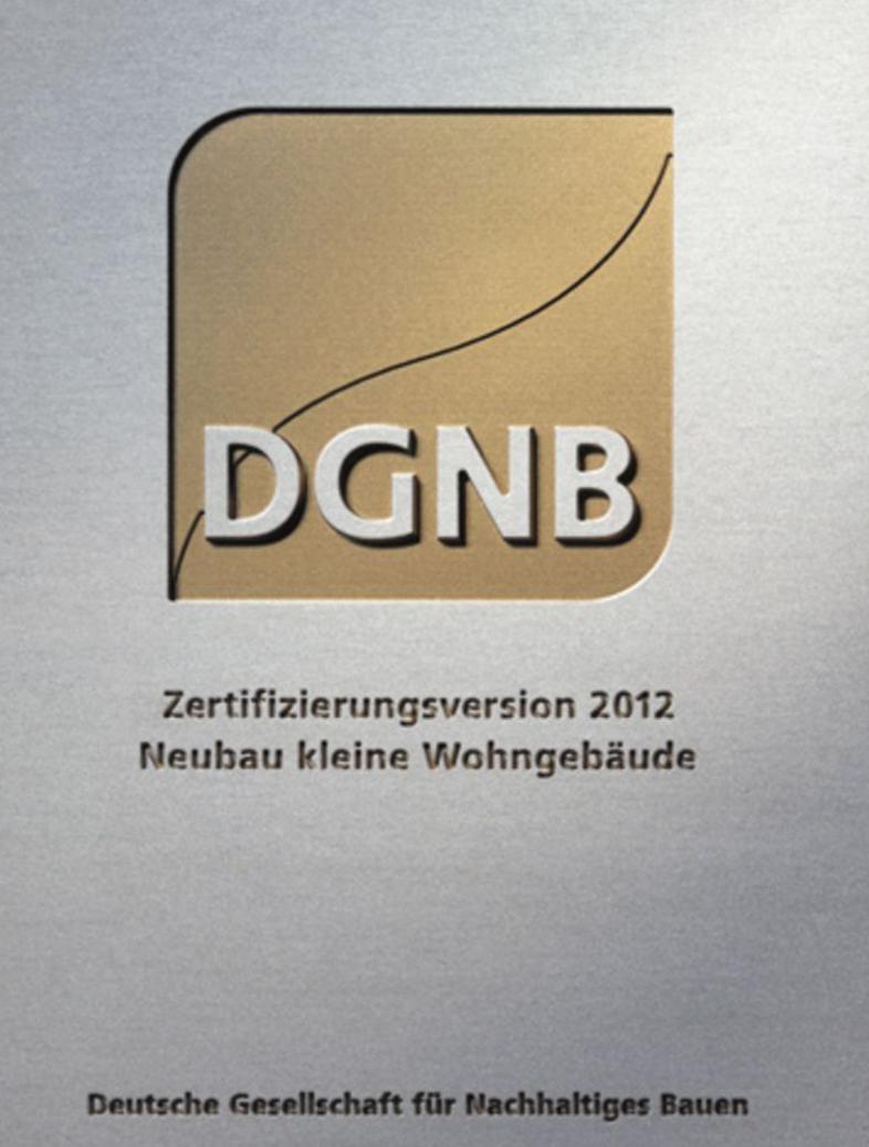 Bien-Zenker erhielt als erste Hausbau Firma die Goldmedaille für Einfamilienhäuser! Darauf sind wir ebenfalls sehr stolz.