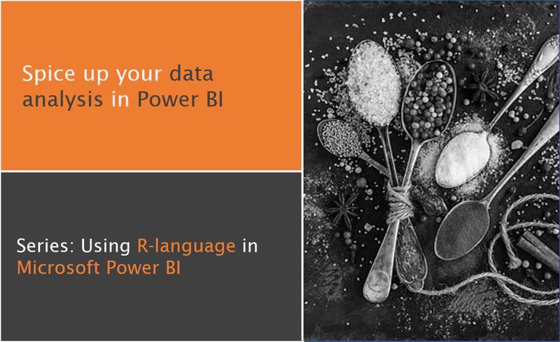 Blog Series: Using R-language in Microsoft Power BI