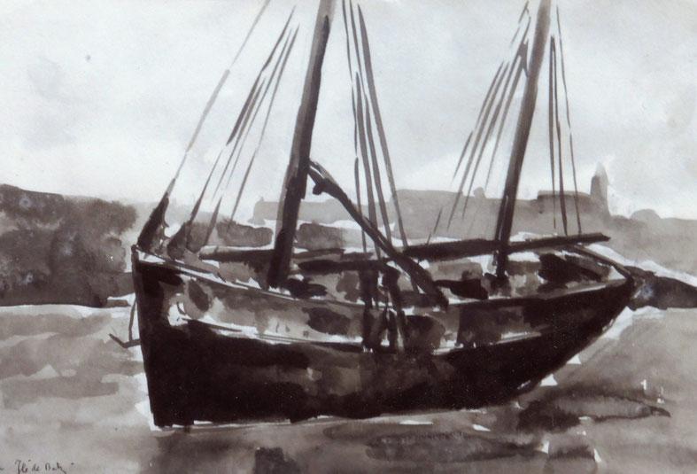 On ressent dans ces dessins toute la puissance de ces coques bien porteuse, pour les iliens aussi c'étaient de gros bateaux