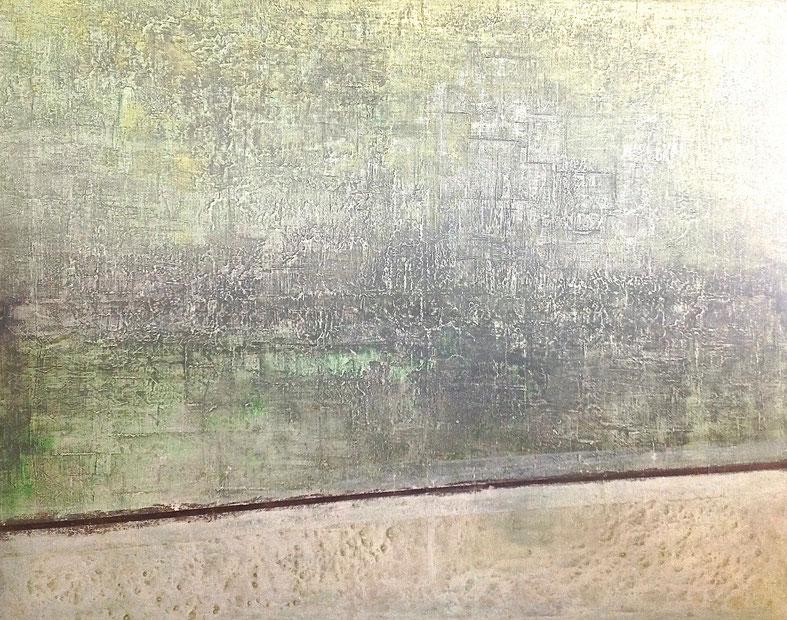 """ Millenary Cultures "" - Acrylic on canvas - 82H x 100W x 2cm"