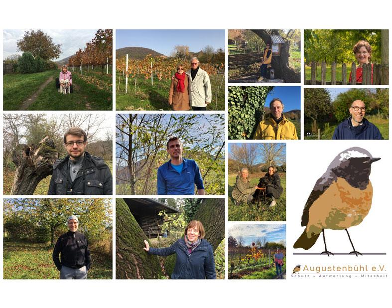 Fotokollage des Augustenbühl e.V. zum Digitalen Neujahrsempfang der Gemeinde Dossenheim (Dagmar Schülke)