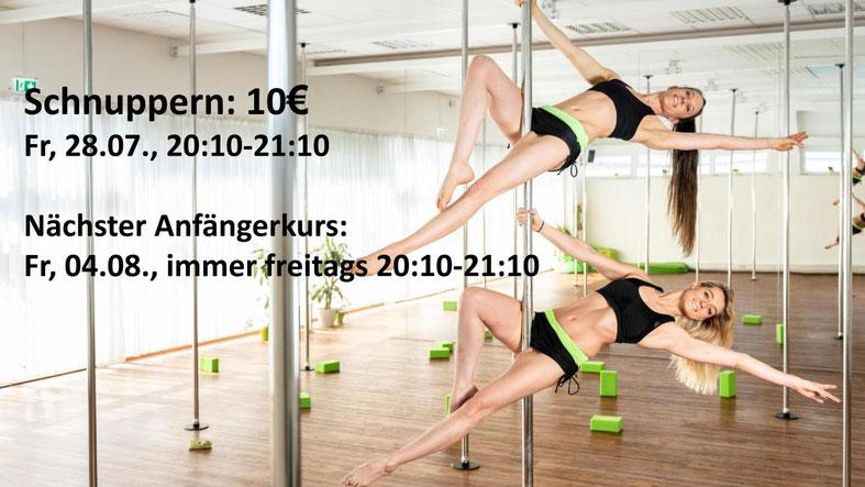 Kannst du Gewicht verlieren Pole Dance