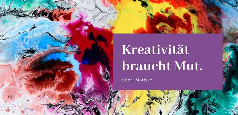 """""""Kreativität-Du bist der Schöpfer deines Lebens"""" Barbara Brüning Gastbeitrag in der Blogreihe zum Thema Glück #Kreativität #Mut #Blog"""