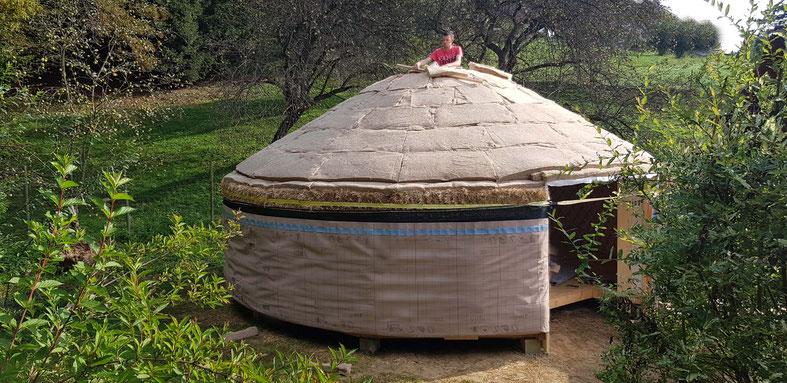 Tiny House / Jurte bauen / rundesLeben.at