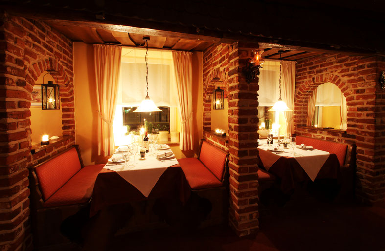 Sitzplätze | Nischen | Innen Restaurant La Grappa Detmold