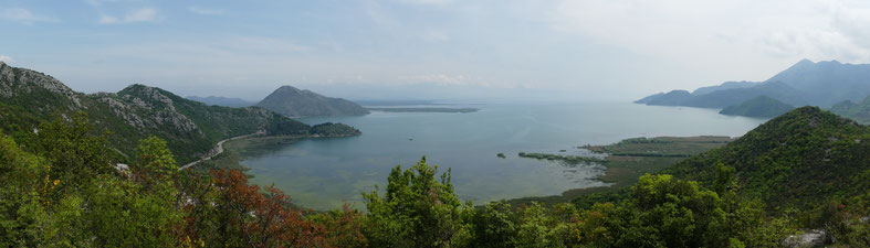 bigousteppes montenegro skadar lac balkans