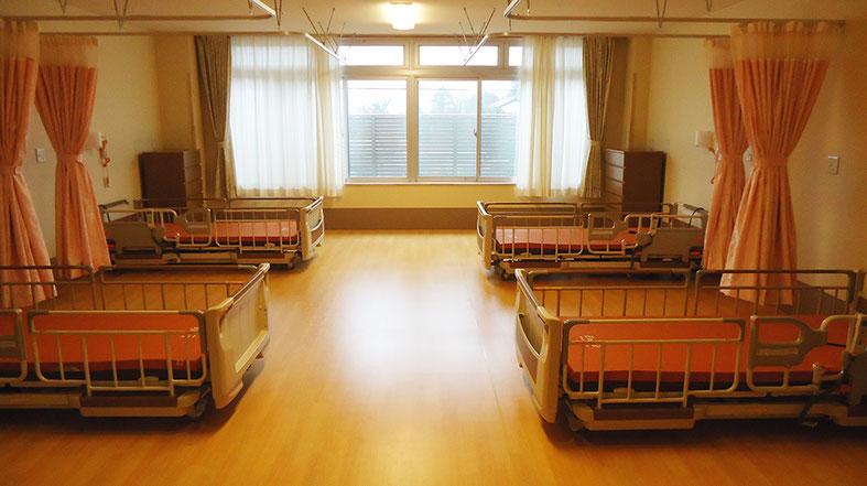 社会福祉法人緑進会:介護老人福祉施設芦原メロン苑の特別養護老人ホームの新設多床室4人部屋
