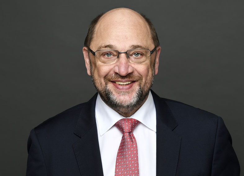 BdB-Schirmherr Martin Schulz (Bildnachweis DBT | Stella von Saldern)