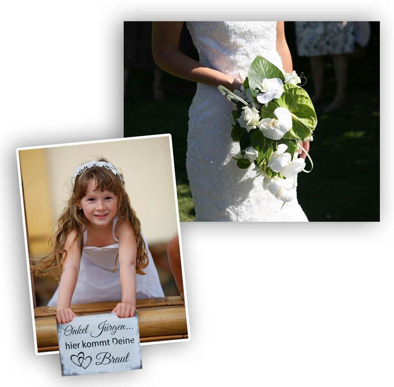 Brautmädchen Mädchen Holzschild Onkel hier kommt Deine Braut Shabby Look Chic Vintage Hochzeit Kirche Hochzeitsschild Schild