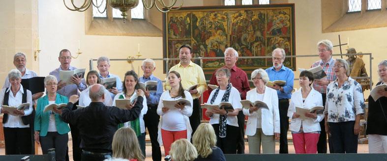 Chor der Chorleiter des Chorverbandes Niedersachsen-Bremen