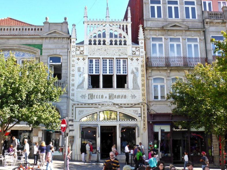 The Lello and Irmão bookshop