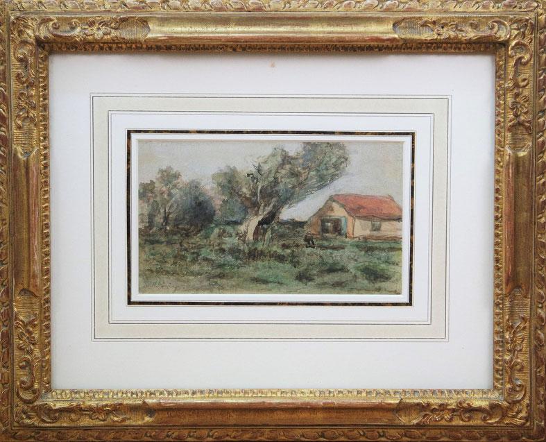 te_koop_aangeboden_een_aquarel_van_de_kunstschilder_hendrik_johannes_weissenbruch_1824-1903_haagse_school